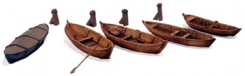 54107 Artitec Rowing Boats (unpainted kits)